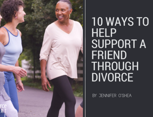 10 Ways to Help Support a Friend Through Divorce